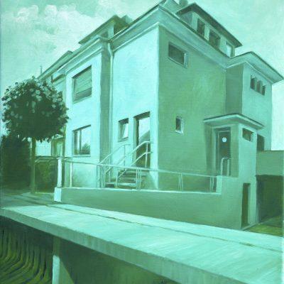 Haus 5, 50 x 60, Öl/L, 2013