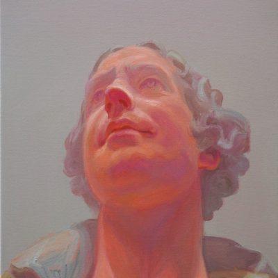 Homo-sapiens II #6, Öl/L, 30 x 40, 2016