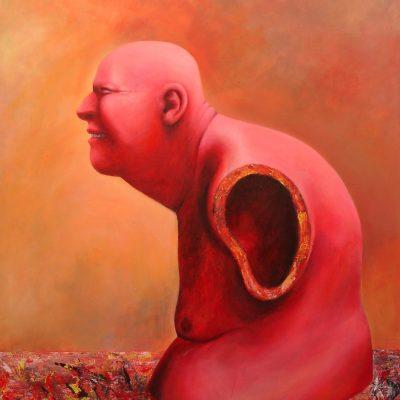 Torso 6, 120 x 150, Acryl/L, 2002