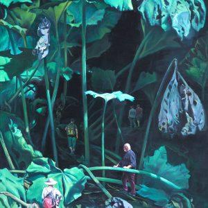 Dschungel, 120 x 200, Öl/L, 2020